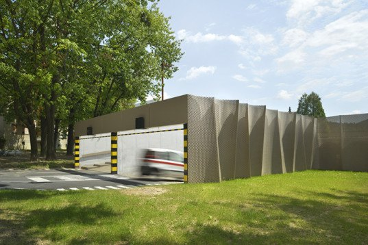Architizer Awards, ENOTA architects, ENOTA, Velenje car park, ENOTA Velenje, ENOTA Velenje car park, green car park, green parking garage, natural design, green design,