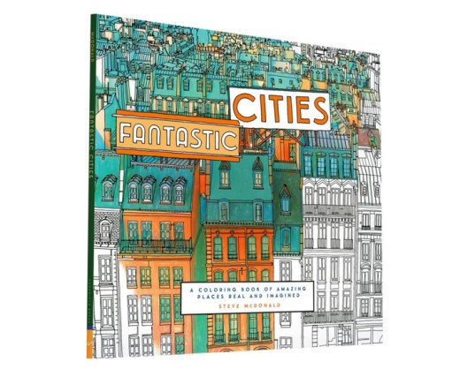Fantastic Cities Book