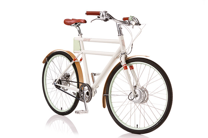 Vintage Style Faraday Porteur Ebike Brings Together Classic Style