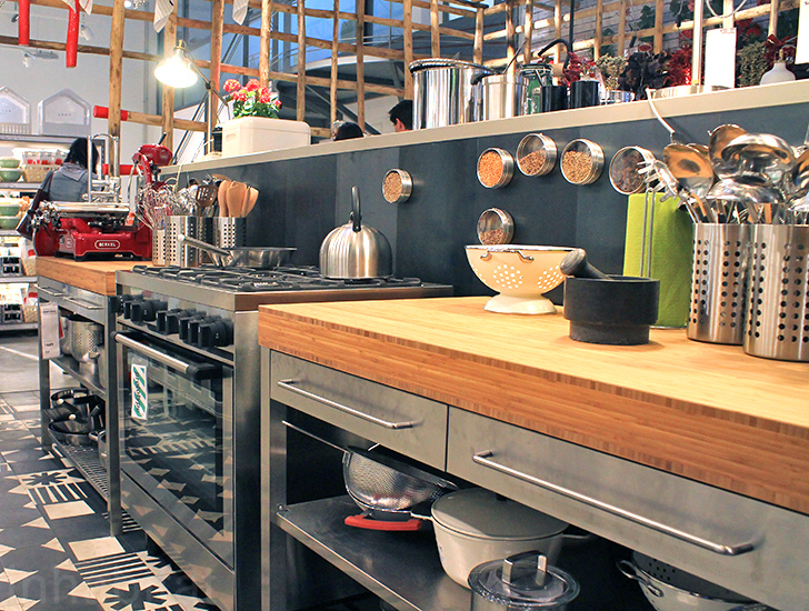 IKEA's temporary shop explores the future of kitchen design at Milan Design Week