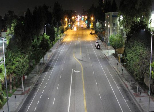 los angeles, led streetlights, led street lights, energy efficiency, philips citytouch, smart cities