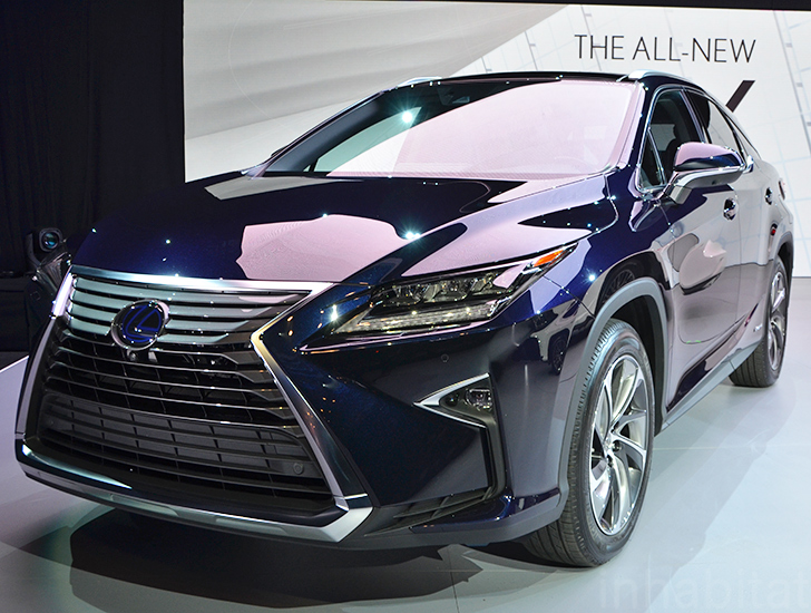 2016 Lexus Rx 450h Hybrid Makes A Bold Statement At The New York Auto Show