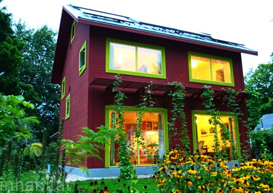 8 of the world 39 s most inspiring homes inhabitat green for Most energy efficient home construction
