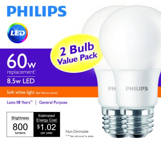 philips, led lighting, led bulbs, $5 led lightbulb, new philips led, most affordable led, low cost led, low cost home lighting, green home lighting, green interior lighting