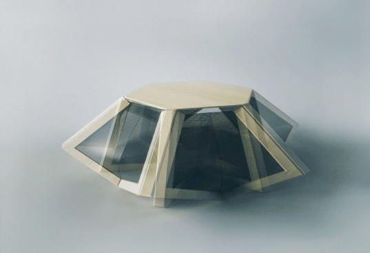 MIT Self-Assembly Lab, self-assembled furniture, transformable furniture, small living spaces, Wood-skin, wooden furniture, small spaces, green furniture, green design, smart design
