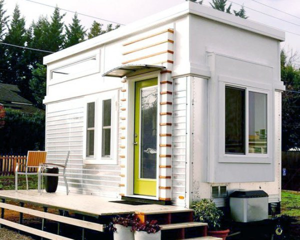 Man Transforms A Salvaged Trailer Into An Elegant Tiny Home And Sells For  $36,000 On Craigslist | Inhabitat   Green Design, Innovation, Architecture,  ... Part 57