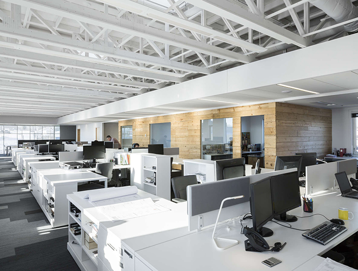 open office architecture images space. Simple Office STGM Architectes Head Office  Inhabitat U2013 Green Design Innovation  Architecture Building Throughout Open Architecture Images Space U