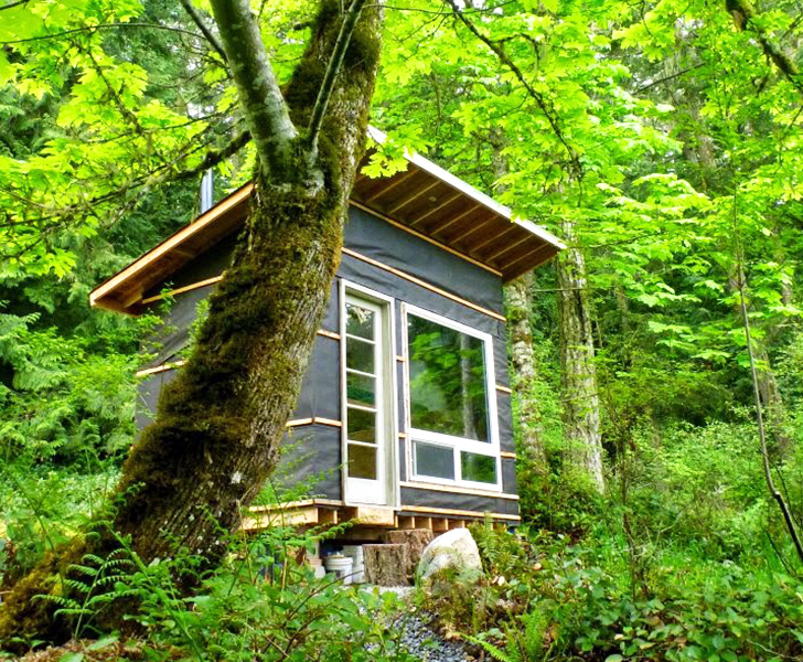 tiny home, cheap tiny home, 83 square foot home, recycled home, salvaged tiny home, 500 dollar tiny home, tiny house