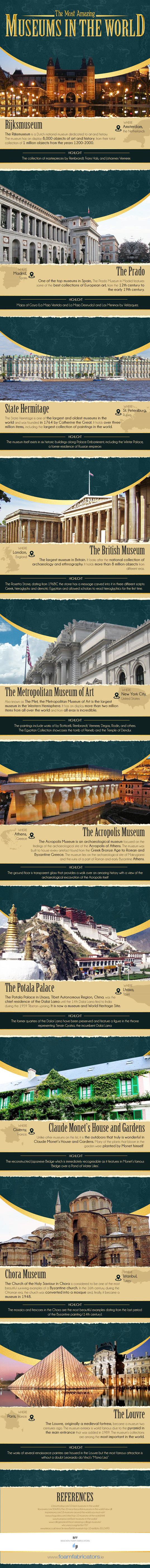 The-Most-Amazing-Museums-in-the-World-Infographic