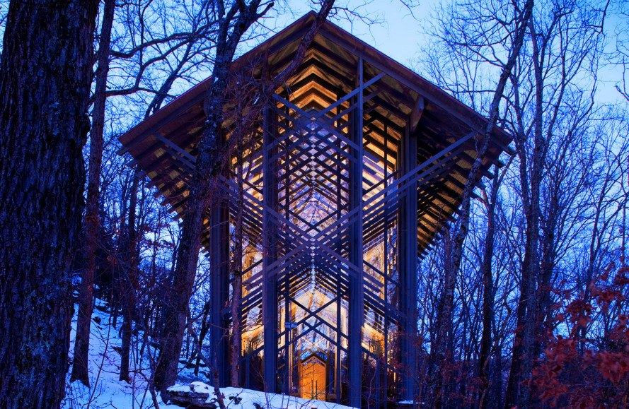 Breathtaking Thorncrown Chapel Is One Of Americas Greatest