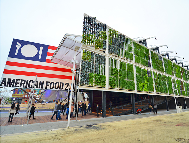 American Food 2 0 Usa Pavilion By Biber Architects Inhabitat