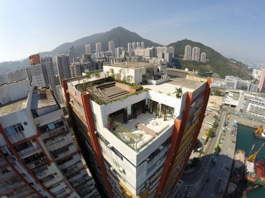 Wing loft, Hong Kong, green renovation, industrial warehouse, derelict warehouse, natural light, performance space, event space, LEAD