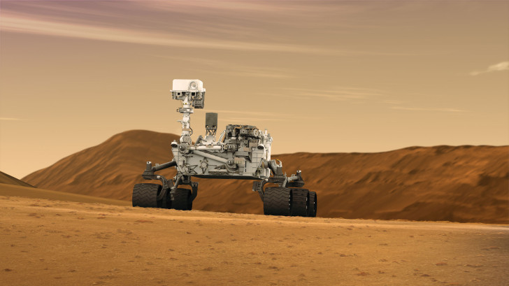 Curiosity rover shows Mars has a daily water cycle like Earth