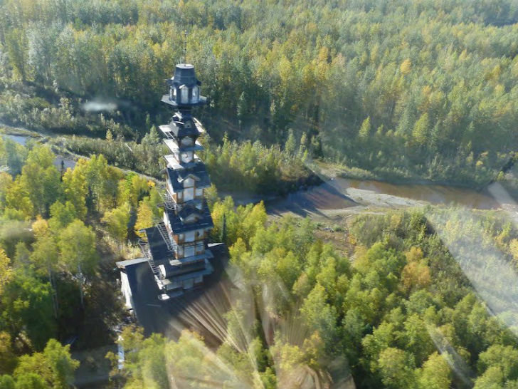 Alaska S Dr Seuss House Is A Whimsical Tower Made Of