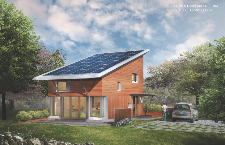 Paul Lukez Architecture To Build A Small, Energy Plus Home Outside Boston