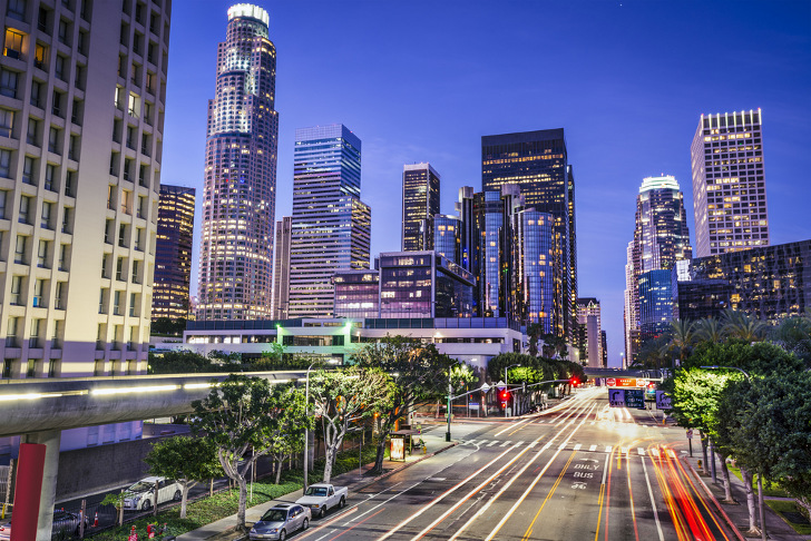 Los Angeles to network all 7,500 miles of LED streetlights through wireless and cloud technologies