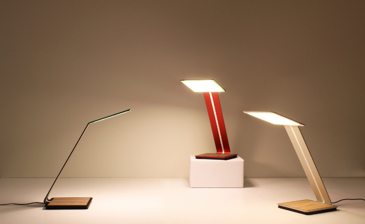 This Elegant Organic Led Lamp Will Make Your Reading Nook