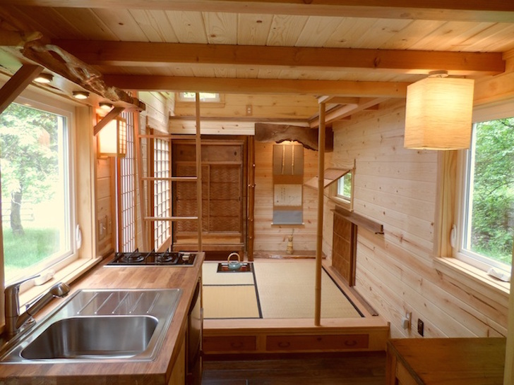 Adorable Tiny Cottage Is A Japanese Inspired Teahouse On Wheels | Inhabitat    Green Design, Innovation, Architecture, Green Building