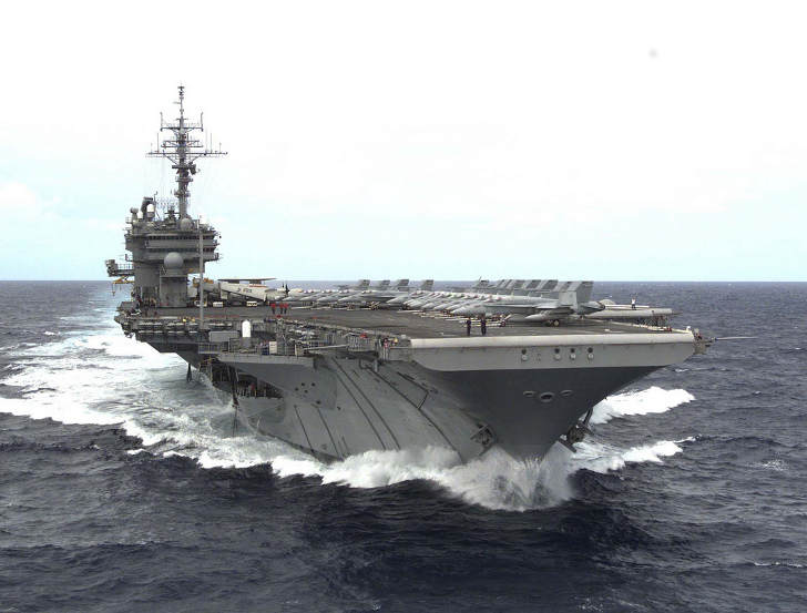 Washington State Rep Wants To Turn Old Aircraft Carriers