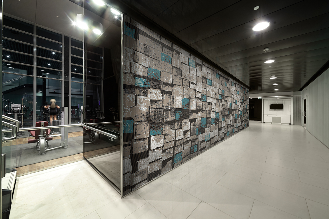 Recycled Glass Tiles Offer A Dual Exploration Of Beauty In