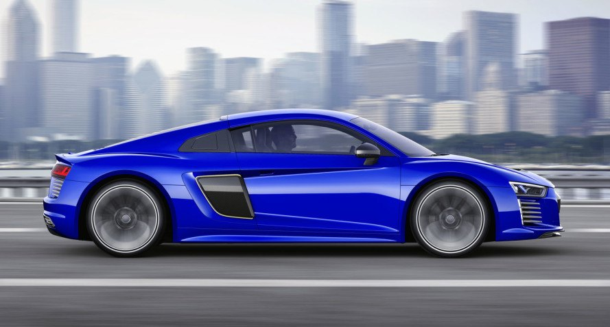 Audi Piloted Driving >> Audi R8 E Tron Piloted Driving Inhabitat Green Design