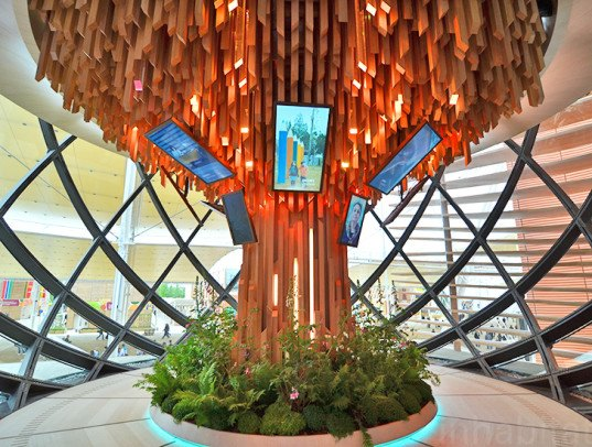 Azerbaijan pavilion milan expo 2015 inhabitat green for International azerbaijan decor expo