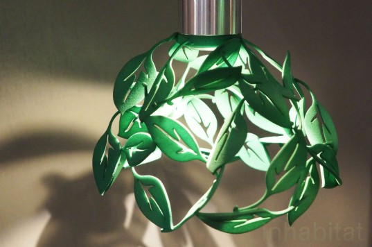 3D printed lamp, Leaf Lamp, CP Lighting, energy-efficient Lighting, green lighting, eco-friendly lighting, LED lighting, LEDs, green interiors, sustainable interiors, green design, sustainable design, new york design week, nyc x design, green products, green technology, sustainable technology
