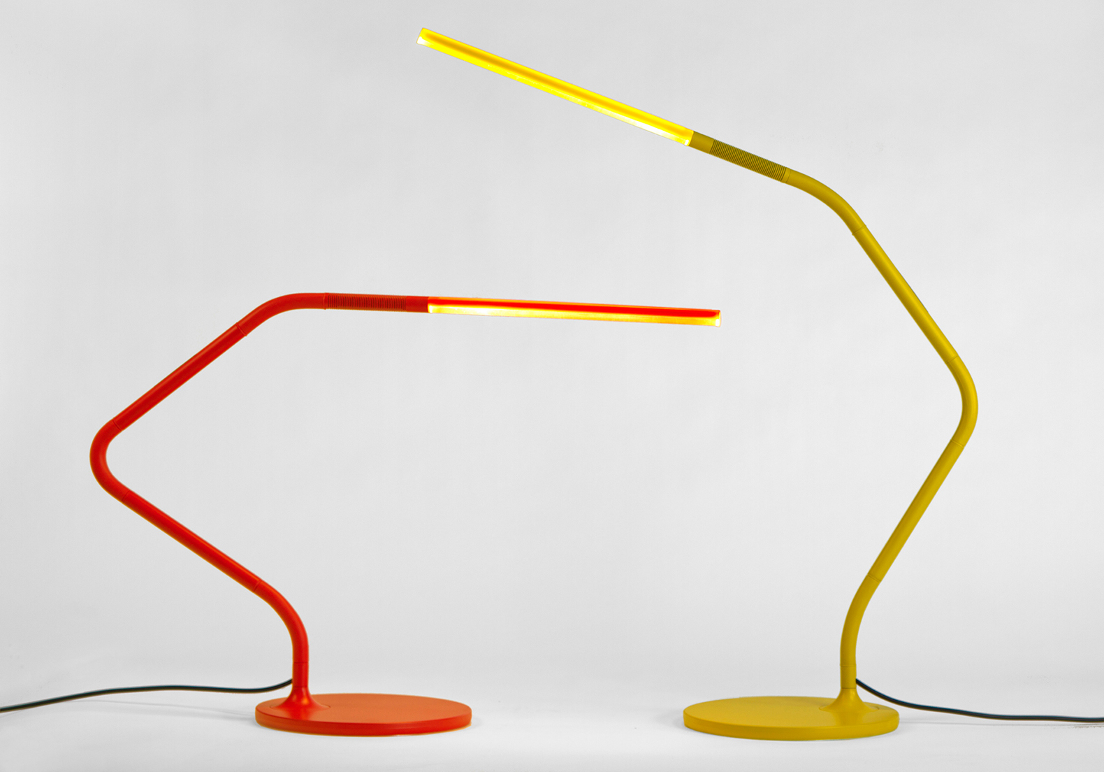 Lovely This Rubber Jointed LED Table Lamp Can Bend In Any Direction Like Gumby