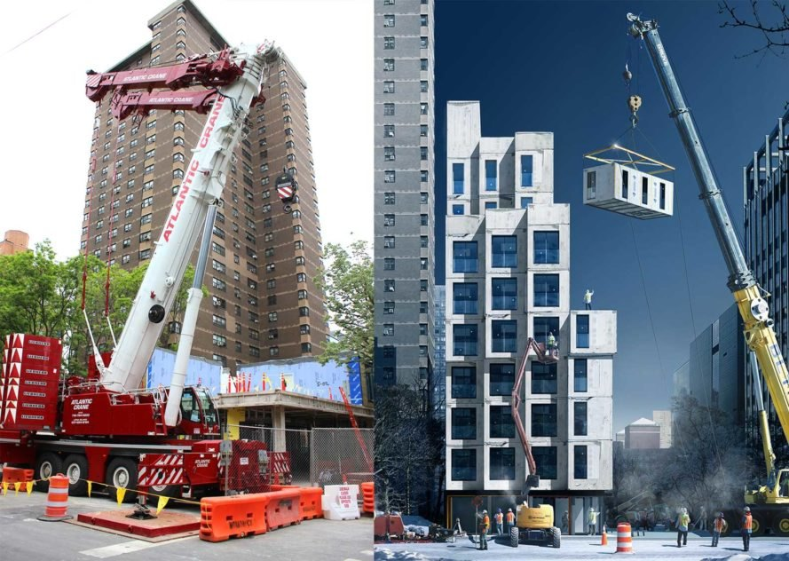 NYC\'s adAPT Carmel Place prefab micro apartments begin to ...
