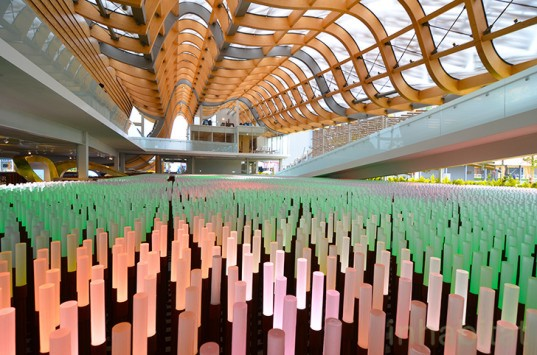 China, Land of Hope, Field of Hope, Milan Expo 2015, green design, sustainable design, eco-design, food security, Feeding the planet energy for life, Italy, bamboo, china pavilion, Tsinghua University, Studio Link-Arc