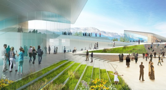 architecture, architecture concepts, colorado springs, olympics, winter olympics, 2018 winter olympics, US Olympic Museum, DS+R Architects