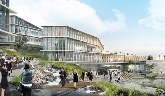 PWD Architecture, Dali, Yunnan, mixed use, mixed use development China, Dali Creative Area, natural ventilation, natural daylight, natural topography, terraced buildings, terraces, green roof