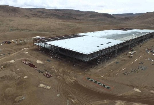 HD drone camera, Tesla Motors, Tesla Gigafactory, renewable energy, Tesla batteries, Tesla battery plant, Elon Musk, Tesla drone footage, solar power, Tesla battery pack, Tesla Model 3