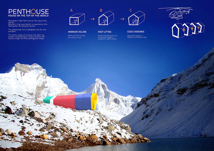 Hmmd Unveils Himalayan Mountain Hut Competition Winners