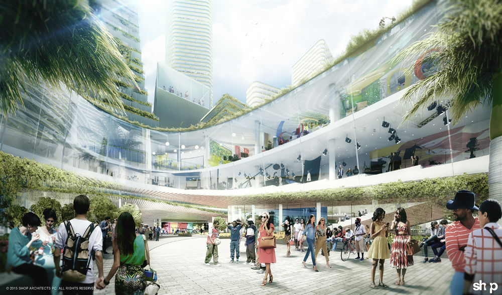 """SHoP reveals design for downtown Miami's proposed """"Innovation District"""""""