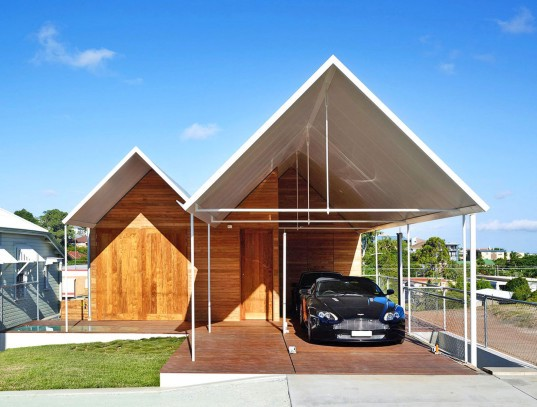 Christian Street House, Christian Street House by James Russell Architect, James Russell Architect, water storage tank, solar energy, locally sourced materials, Brisbane, Australia, energy efficient home,