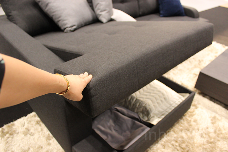 Lazzoni Sleeper Sofa With Storage « Inhabitat U2013 Green Design, Innovation,  Architecture, Green Building