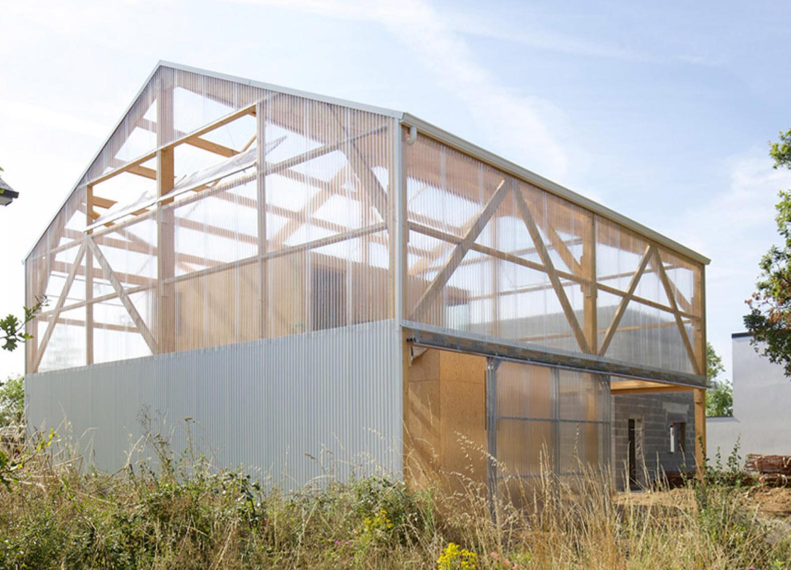 Wonderful Does The Bare Bones Maison D House Take Utilitarian Architecture Too Far?