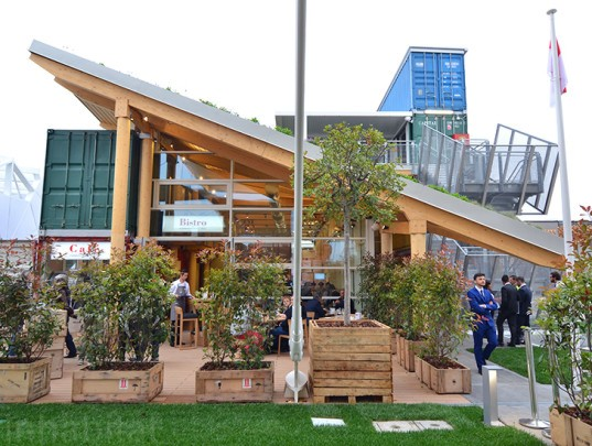 expo milan 2015, expo milano 2015, enrico pollini, monaco, fright containers, vertical garden, sustainable agriculture, sustainable farming