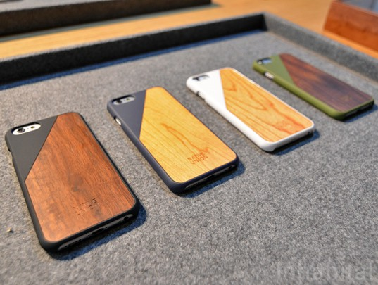 native union, wood iphone case, wood phone case, Designjunction EDIT, designjunction, new york design week, nyc x design, design events, design shows, sustainable design, green design, green interiors, green products, green housewares, green furniture, sustainable furniture