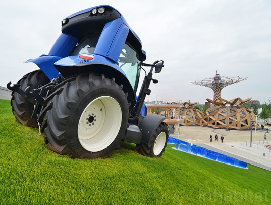 urban farming, farming, big agro, big agriculture Milan, big agriculture, fossil fuels, World Expo, Milan Expo, World Expo 2015, 2015 Milan Expo, expo milan 2015, expo milano, new holland agriculture, tractor, sustainable farming, carlo ratti, recchiengineering