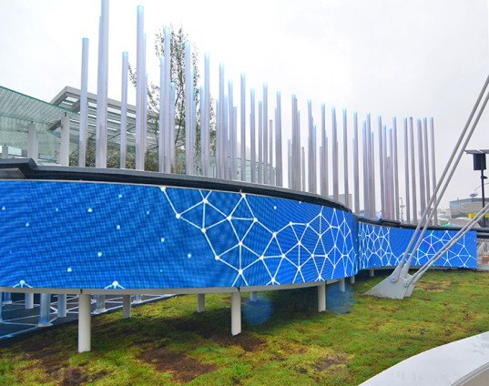 Expo 2015 Stand Enel : Enel s solar powered expo pavilion is a virtual forest