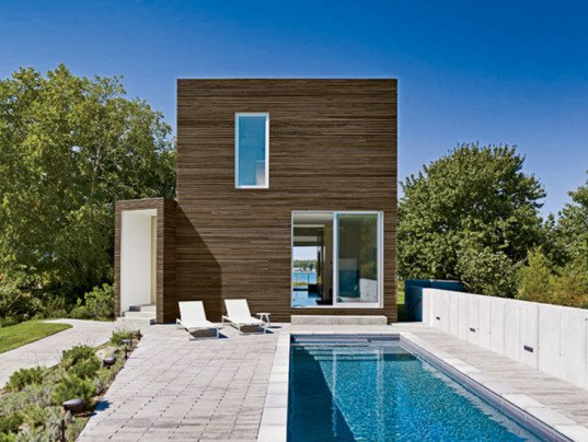 Quonochontaug House is a daylit vacation home in Rhode ...
