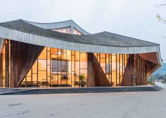 aim architecture, rural china, chinese resort, ruff well water resort, hot springs, outdoor pools