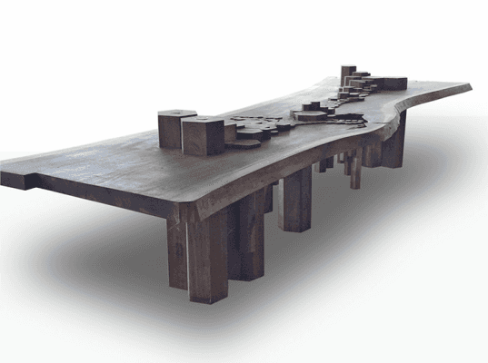 Shimna, shimna table, bklyn designs, bklyn designs 2015, brooklyn design, brooklyn designers, made in brooklyn, sustainable design, eco design, green home furnishings, nyc design, furniture made in brooklyn, brooklyn goods, goods made in brooklyn, green design