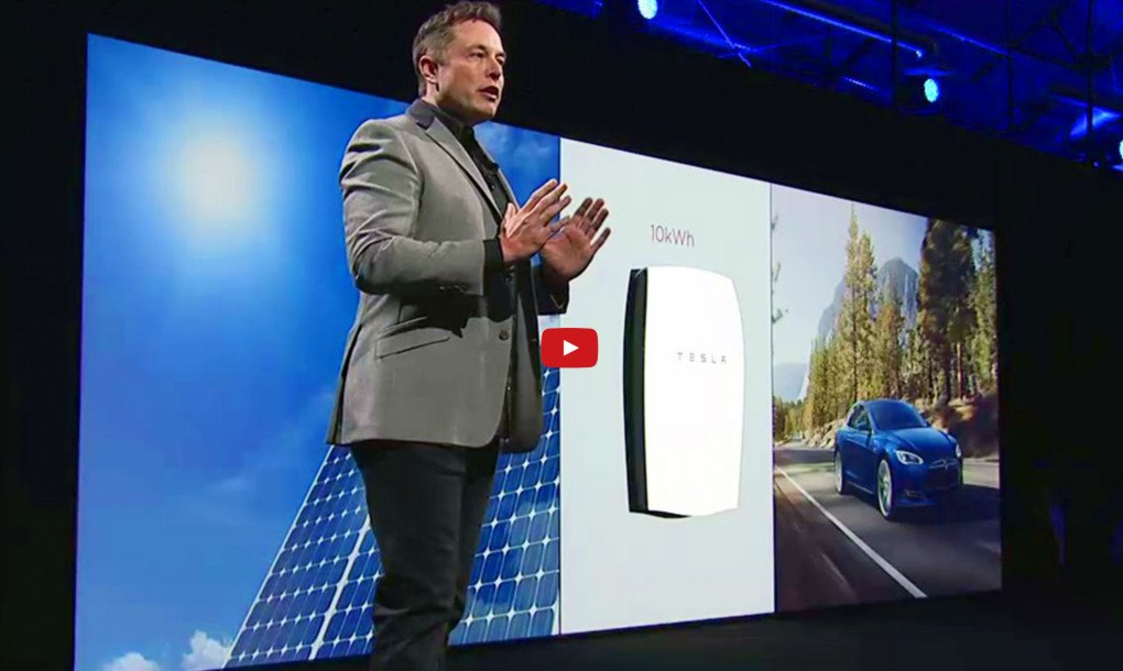 Tesla S New 3500 10kwh Powerwall Home Battery Lets You