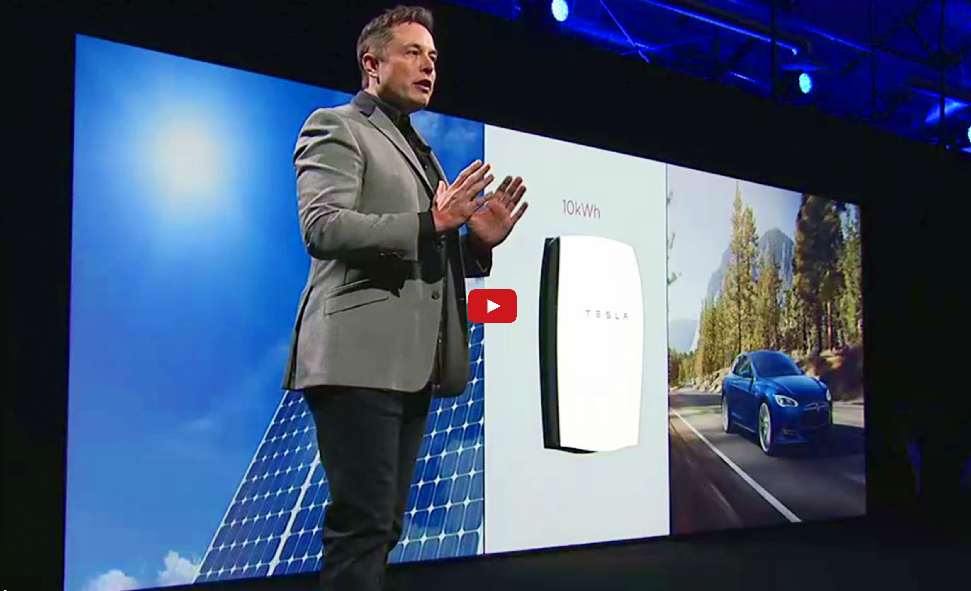 Tesla's new $3500 10kWh Powerwall home battery lets you