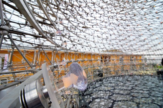 UK pavilion, The Hive, Grown in Britain and Northern Ireland, Milan Expo, green design, sustainable design, eco-design, food security, biodiversity, Feeding the Planet Energy for Life, Italy, bees, colony collapse disorder, bee hive, Milan Expo 2015
