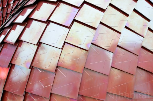 World Expo, Milan Expo, World Expo 2015, 2015 Milan Expo, China, Vanke, Milan Expo 2015, red ceramic tiles, Daniel Libeskind, Casalgrande Padana, self-cleaning tiles, rooftop terrace, green design, Italy, sustainable design, green architecture, Italy