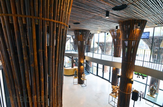 World expo, Milan world expo, 2015 Milan Expo, World Expo 2015, Milan Expo 2015, Milan, Italy, green design, sustainable design, feeding the planet, energy for life, bamboo, lotus pods, Vietnam, photos, food waste, sustainable food, green architecture